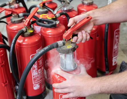 Incarcare Verificare Stingatoare de incendiu